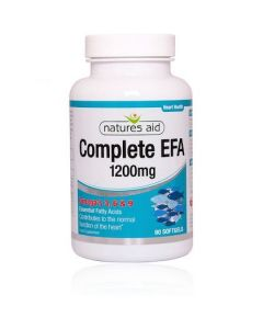 Natures Aid Complete EFA 1200mg 90caps Omega 3 6 and 9