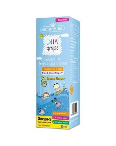 Natures Aid DHA (Omega-3) Drops for Infants and Children 50ml