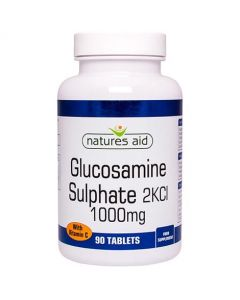 Natures Aid Glucosamine 1000mg with Vitamin C (90)