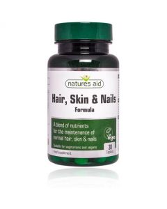 Natures Aid Hair, Skin & Nail Formula-30 tablets