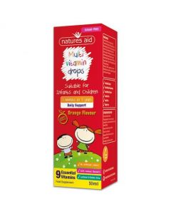 Natures Aid Multivitamin Drops for Infants and Children 50ml