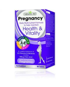 Natures Aid Pregnancy Multi-Vitamins & Minerals
