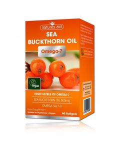 Natures Aid Sea Buckthorn oil Omega 7 - 90s