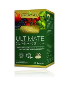 Natures Aid Ultimate Superfoods (Organic) 60 Capsules