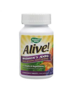 Natures Way Alive! Womens 50+ 30 Tablets