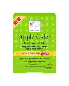 New Nordic Apple Cider High Strength - 60