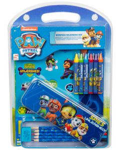 Nickelodeon Paw Patrol Bumper Colouring Set - Spies Unleashed Stationery & Stickers Set