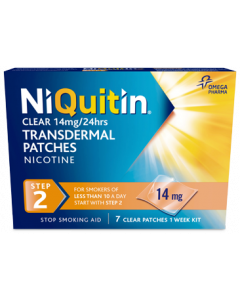 NiQuitin Clear Patch Step 2 - 14mg