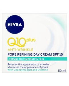 Nivea Anti-Wrinkle Q10 Plus Pore Refining Day Cream SPF15 50ml