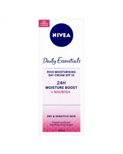 Nivea Daily Essentials Rich Moisturising Day Cream SPF 15 - 50ml