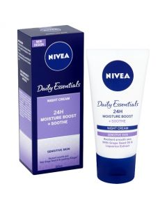 Nivea Daily Essentials Sensitive 3 Night Care Cream - 50ml
