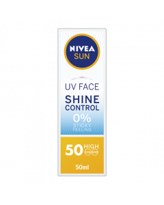 Nivea Sun UV Face Shine Control Cream SPF50 50ml