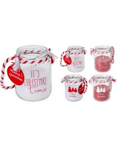 Novelty Christmas Candle with Rope