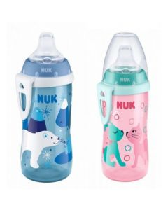 Nuk Active Cup, Soft Spout with Carrying Clip