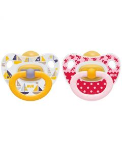 NUK Happy Kids Soother 6-18 Months- Twin Pack