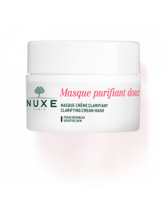 Nuxe Clarifying Cream-Mask with Rose Petals clarifies the complexion and purifies the skin. Buy Nuxe Clarifying Cream-Mask with Rose Petals in Ireland today.