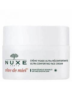 Nuxe Rêve de Miel Ultra-Comfortable Face Cream - Day replenishes lipids