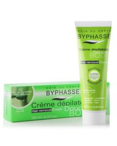 Byphasse Hair Removal Cream -Aloe Vera 125ml