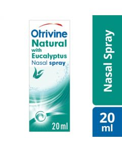 Otrivine Natural with Eucalyptus Nasal Spray 20ml