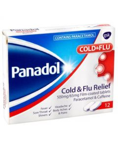 Panadol Cold & Flu Relief Tablets-12