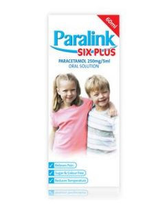 Paralink Six plus Oral Solution (Image is of a 60ml bottle)