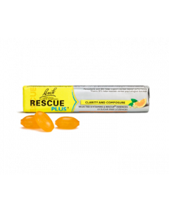 Bach Rescue Plus Lozenge Plus Orange & Elderflower