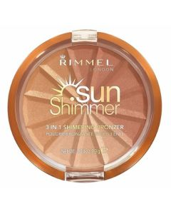 Rimmel Sunshimmer 3 in 1 Bronzer Powder