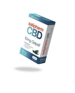 Satipharm CBD 10mg Gelpell 30 Capsules