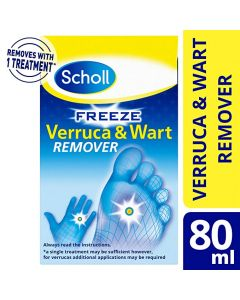 Scholl Freeze verruca & Wart Remover 80ml