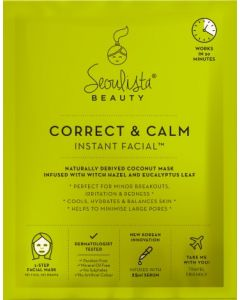 Seoulista Correct and Calm Instant Facial