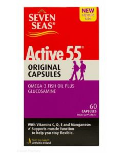 Seven Seas Active 55 Original Capsules - 60