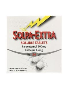 Solpa-Extra Soluble 500/65 mg Tablets
