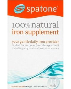 Spatone Iron Supplement  - (14 daily sachets)