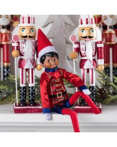 The Elf on The Shelf Sugar - Plum Soldier Outfit