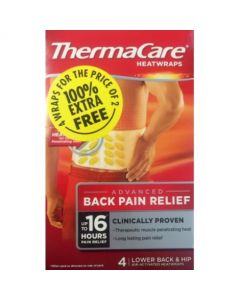 Thermacare Back 100% Extra Free - 4 pack
