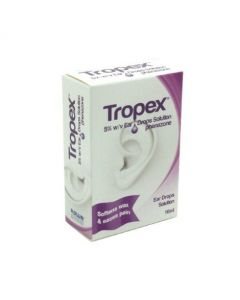 Tropex Ear Drops Solution 10ml Phenazone 5%