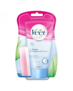 Veet  In Shower Hair Removal Cream - Sensitive 150ml