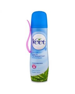 Veet Spray On Hair Removal Cream - Sensitive 150ml