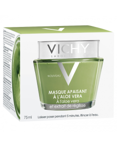 Vichy Softening & Soothing Aloe Vera Mask 75ml