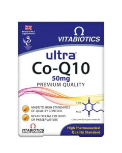 Vitabiotics Ultra Co-Q-10 Tablets 60's