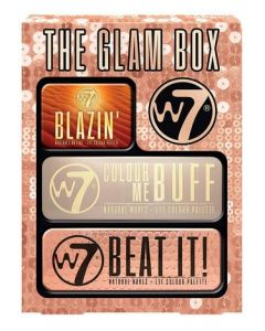 W7 Glam Box 3 Piece Gift Set