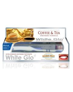 White Glo Coffee and Tea Drinkers Formula - Whitening Toothpaste 100ml