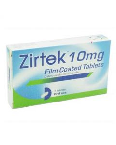 Zirtek Allergy Relief Tablets (7)