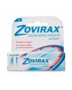ZOVIRAX CREAM PUMP EASY RUB IN 2G