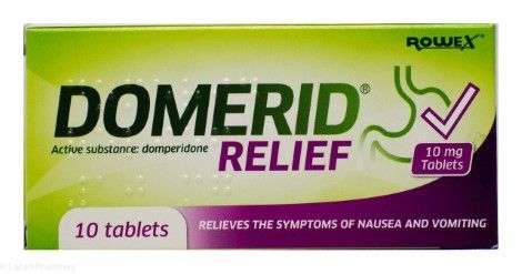 Domerid Relief Tablets 10