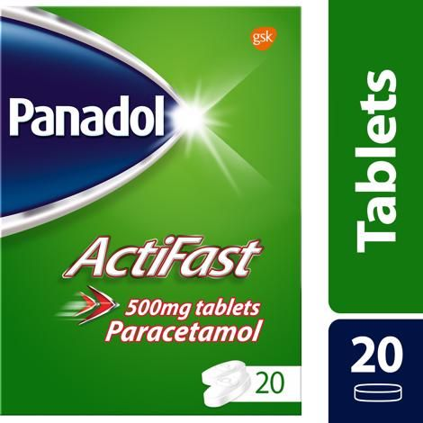 Panadol Actifast Tablets 20