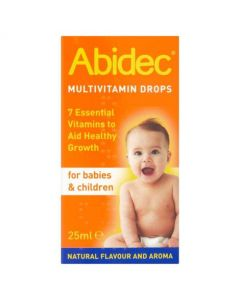 Abidec Multivitamin Drops for Babies and Children- 25ml