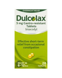 Dulcolax- 20 Tablets