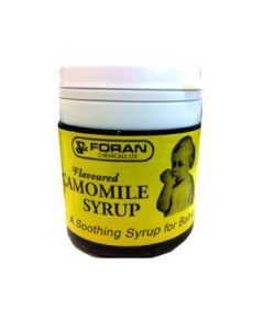 Foran's Camomile Syrup is a soothing syrup for babies.Buy Foran's Camomile Syrup online in Ireland today.