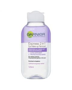 Garnier Express 2in1 Eye Make Up Remover 125ml